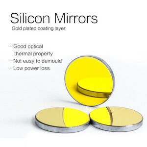 Opex High Quality Co2 Laser Reflective Si Mirror Laser Cutter Lens Dia 25mm 3pcs