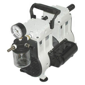 Welch 2581b 50 Piston Vacuum Pump 1 3 Hp 29 8in Hg