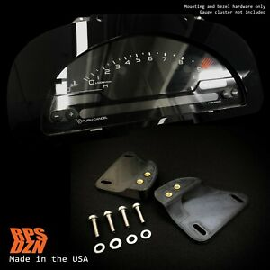 S2000 Cluster Conversion Gloss Acrylic Mounting Kit For Honda Civic