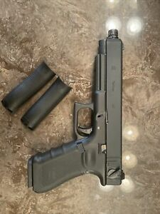 Airsoft Glock G35 Full semi Auto. Barrel Thread And 2 Grip Plates. $155.00