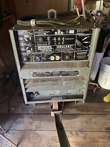 Used Lincoln Idealarc R3r 300 300 Amp Dc Arc Welder Tig Stick