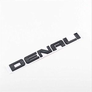 1pc Denali Word Sticker Fit Car Door Side Or Tailgate Decal 3d Badge Auto Parts
