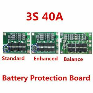 12 6v Lithium Battery Pcb Bms Protection Board 40a For Drill Motor Best 3s S1n5