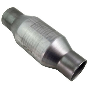 2 5 Inch New Catalytic Converter High Flow Stainless Steel Overall Length 410250