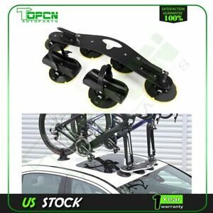 1 Pcs 2 Bike Suction Cargo Roof top Quick Installation Roof Rack Aluminum