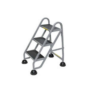 Stop step 1030 19 Mobile Step Stand beige 32 1 2 H
