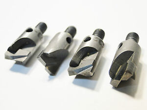 3 Piece Rivet Shaver Bit Lot Size 7 16 Aircraft Tools