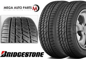 2 Bridgestone Driveguard Rft Run Flat 205 55r16 91v All Season Tires 60000 Mile