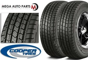2 Cooper Evolution Ht 235 70r16 106t All Season Tires W 60000 Mile Warranty