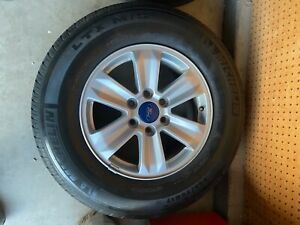 17 Rims Silver Alloy 245 70r17 Sport Truck Tires Set Of 4
