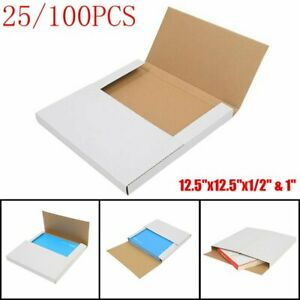 25 100pcs Premium Lp Record Album Book Box Catalog Mailers Boxes Variable Depth