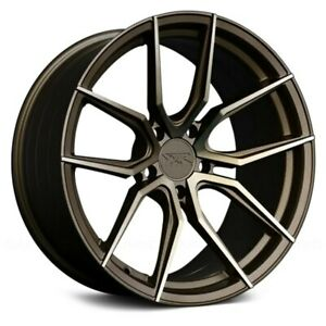 Xxr Wheels 19x8 5 20 5x114 3 73 1 Bronze Rims Set Of 4