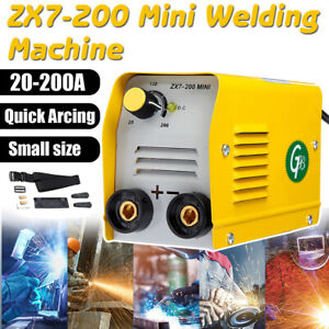 220v 200a Mini Electric Welding Machine Igbt Dc Inverter Arc Mma Stick Welder