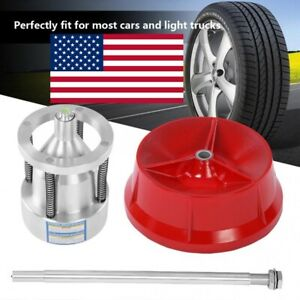 Car Truck Portable Hubs Wheel Tire Balancer Bubble Level Heavy Duty Rim Portable
