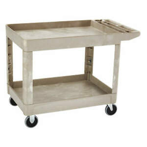 Rubbermaid Commercial Products Fg452089beig Utility Cart 500 Lb Load Cap