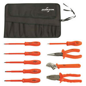 Jameson itl 00006 Insulated Tool Set 9 Pc
