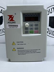 2 2kw Vfd 220v Fuling Variable Frequency Drive Converter 10a Cnc Frequency