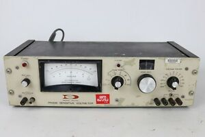 Vintage Dytronics 244 rs Phase Sensitive Voltmeter Powers On Not Fully Tested
