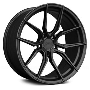 Xxr Wheels 19x8 5 40 5x120 65 72 56 Graphite Rims Set Of 4