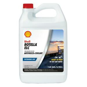 Shell Rotella Elc Pre Diluted 50 50 Antifreeze Coolant 1 Gallon