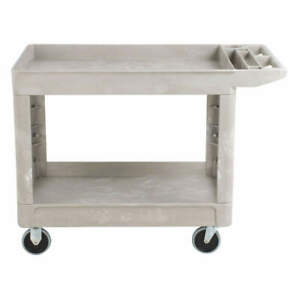 Rubbermaid Commercial Products Fg450089beig Utility Cart 500 Lb Load Cap