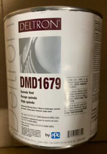 Dmd1679 Ppg Deltron 1 Quindo Red Paint