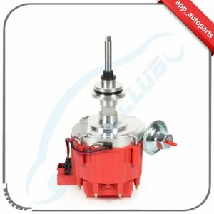 Distributor With Red Cap Fit For Dodge Chrysler Small Block Mopar 273 318 325