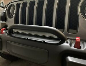 2018 2021 Mopar Jeep Wrangler Grille And Winch Guard Fits Jl And Jt 82215351