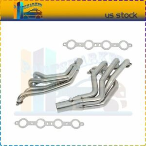 Racing Exhaust Headers Ss High Flow For 1994 2004 Ford Mustang V8 3 8l 4 6l