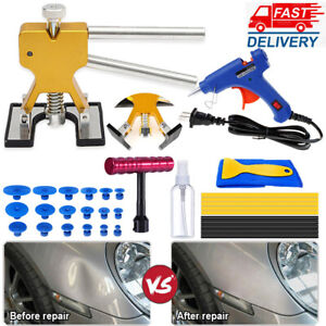 Dent Repair Puller Auto Kits Car Paintless Hail Damage Dent Removal Hammer Tools