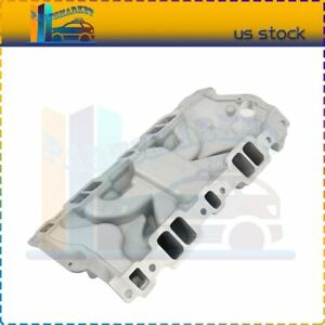 Engine Air Intake Manifold Fits 1955 1986 Small Block Chevy 262 400