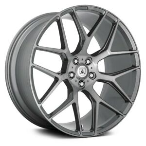 Asanti Abl 27 Dynasty Wheel 20x9 35 5x114 3 72 6 Titanium Single Rim