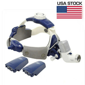 5w Led Hyper Power Wireless Medical Head Light All in one Surgical Headlamp Us