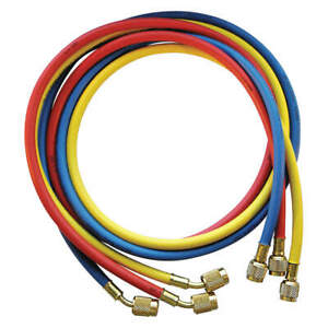 Jb Industries Ccls5 60 Manifold Hose Set 60 In red yellow blue