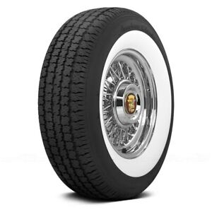 Coker Set Of 4 Tires 165 80r15 S American Classic 2 1 4 Inch Whitewall