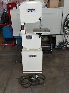 Jet 14 Vertical Band Saw Model J 8201k Stock No 414500 Metal Or Wood Band Saw