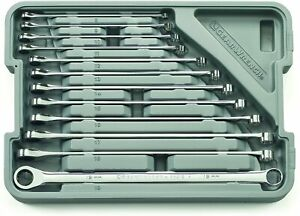 Gearwrench 85988 12 Piece Metric Xl 0 Gearbox Ratcheting Double Box Wrench Set