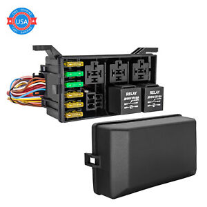 New For Standalone Wiring Harness Ls1 6 0 5 3 4 8 Swap Relay fuse Box Block Us