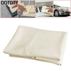 Natural Shammy Chamois Leather Car Cleaning Clean Towels Drying Washing Cloth