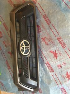 Toyota Tacoma Front Grille Painted 2012 2013 2014 2015 Oem Gray In Color