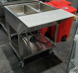 Piper Products Db 2 hf 2 Pan Steam Table Food Warmer Buffet Table Electric