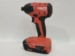 Hilti Cordless Impact Driver Sid 4 a22 With Battery And Charger he3013150