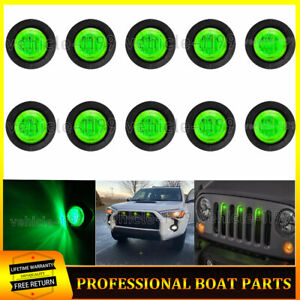 10x 34decorate Raptor Style Green Grille Led Lights Waterproof Fits 1955 Ford