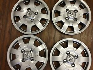 4 14 Toyota Yaris 2006 2007 2008 2009 2010 Wheel Covers Hub Caps Hubcaps