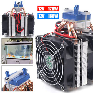 Dc12v Thermoelectric Cooler Water Chiller Cooling System For 30l 40l Fish Tank