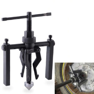 3 Jaw Pilot Bearing Puller Inner Wheel Gear Extractor Car Motorcycle Hand Tool