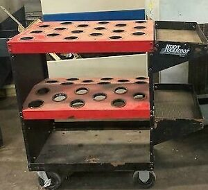 Huot Cnc Tool Cart Toolscoot Holds X2