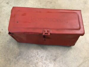 Antique Fordson Tractor Tool Box