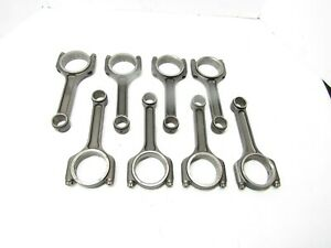 Sb Chevy 6 Connecting Rods 2 100 Oliver Crower Scat Imca Ump 2