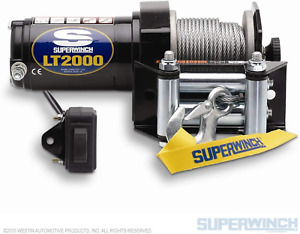 Superwinch 1120210 Lt2000 12 volt Atv Winch 2 000 Lb Capacity
